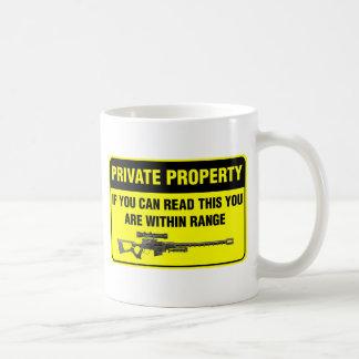 Privateigentum Kaffeetasse