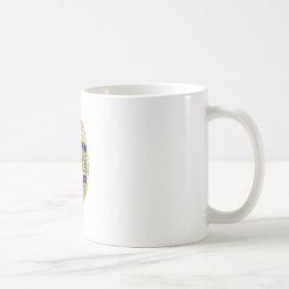 Privater Forscher-Abzeichen Kaffeetasse