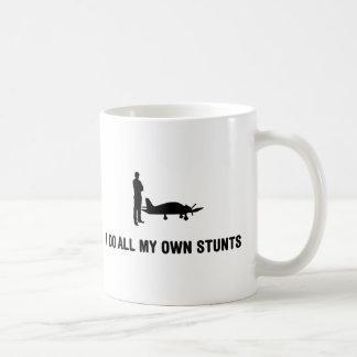 Privater genehmigter Pilot Kaffeetasse