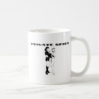 Privater Spions-Gang Kaffeetasse