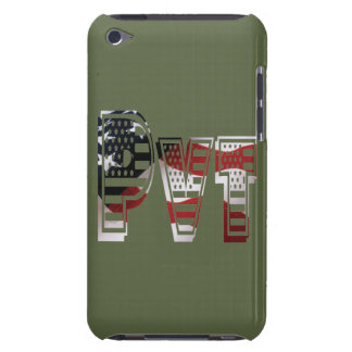 Privater USA-Militärarmee-Grün-Amerikaner Pvt Barely There iPod Case