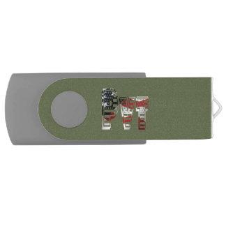 Privater USA-Militärarmee-Grün-Amerikaner Pvt USB Stick