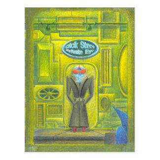 Privates Stahlauge Dicks Postkarten