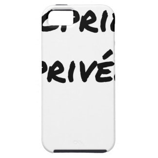 Privatgrundstück - Wortspiele - Francois Ville iPhone 5 Etui