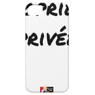 Privatgrundstück - Wortspiele - Francois Ville Schutzhülle Fürs iPhone 5