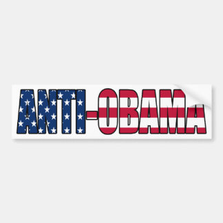 Pro-Amerika Anti-Obama Autoaufkleber
