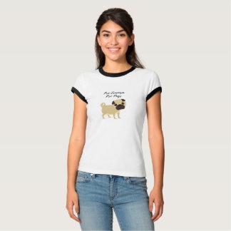 Pro-Feminismus Pro-Möpse T - Shirt