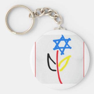 Pro Israel Schlüsselanhänger