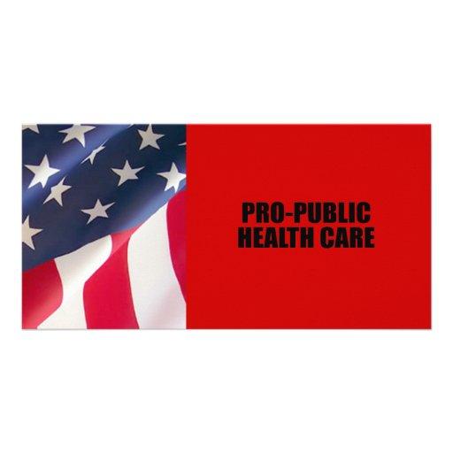Pro-Öffentlichkeit Gesundheitswesen Photokartenvorlagen