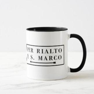 Pro Rialto e S. Marco, Venedig, italienischer Tasse