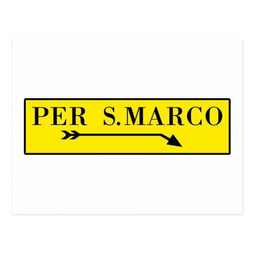 Pro San Marco, Venedig, italienischer Postkarte