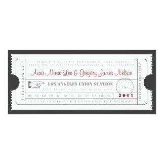 Proben-oder Willkommens-Abendessen - 10,2 X 23,5 Cm Einladungskarte