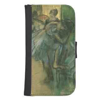 Probende Tänzer Edgar Degass | Samsung S4 Geldbeutel Hülle