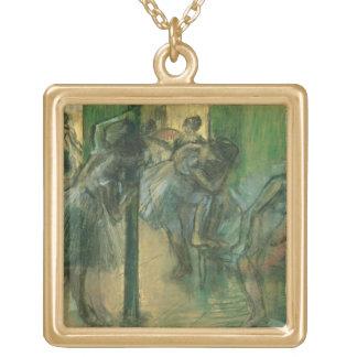 Probende Tänzer Edgar Degass   Vergoldete Kette