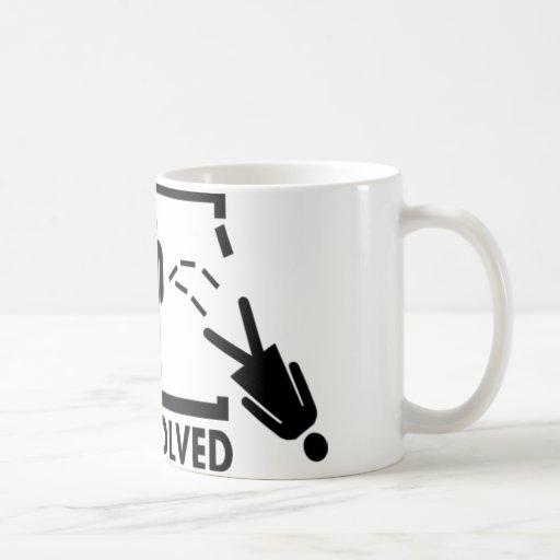 Problem gelöst - Frau Kaffee Tassen