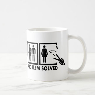 Problem gelöst - Mann Tasse