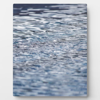 Problem im Wasser Fotoplatte