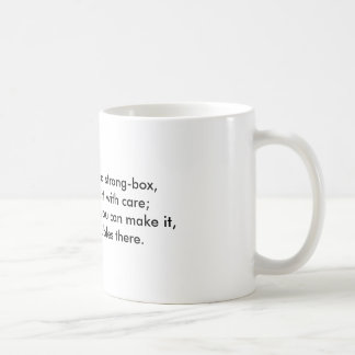 Problem-Kasten Kaffeetasse