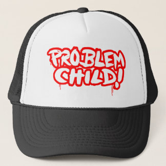 Problem-Kind! Truckerkappe