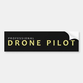 Prodrohne-Pilot Autoaufkleber