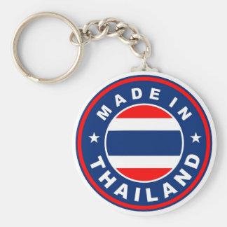 Produkt-Landesflaggeaufkleber hergestellt in Thail Standard Runder Schlüsselanhänger