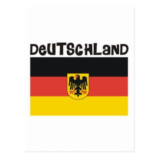 Produkte u. Entwürfe Deutschland Deutschland! Postkarte