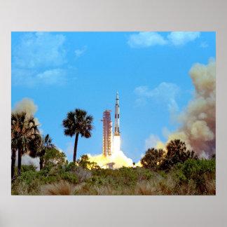 Produkteinführung der NASAs Apollo 16 Poster