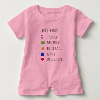 Produktinfo Baby Mädchen Baby Strampler