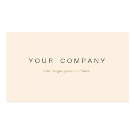 Professionelle Business Visitenkarten peach / gold