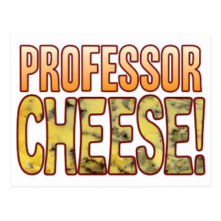 Professor Blauschimmelkäse Postkarte