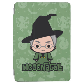 Professor McGonagall Cartoon Character Art iPad Air Hülle