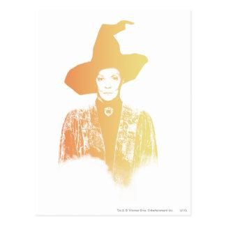 Professor Minerva McGonagall Postkarte