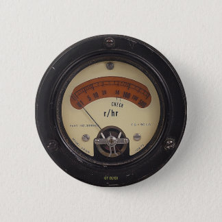 Professor Temples Raytheometer Pin Runder Button 5,7 Cm