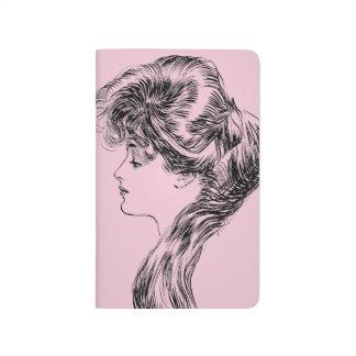 Profil eines Gibson-Mädchens, 1903 Taschennotizbuch