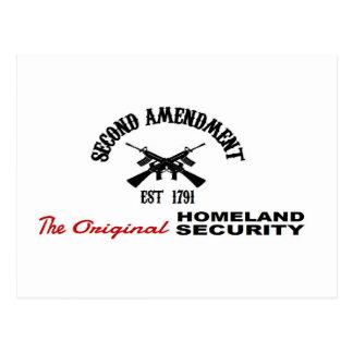 PROgewehr: URSPRÜNGLICHE HEIMAT-SICHERHEITS-2. Postkarte