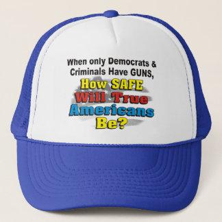 Progewehr, wie Safe wahre Amerikaner ist? Hut Truckerkappe