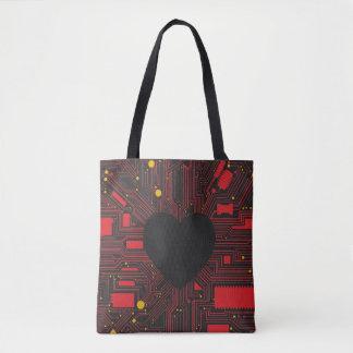 Programmiert für Liebe! Tasche