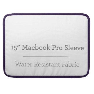 Prohülse der Gewohnheits-15in Macbook Sleeves Für MacBooks