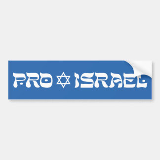 Proisrael Auto Aufkleber