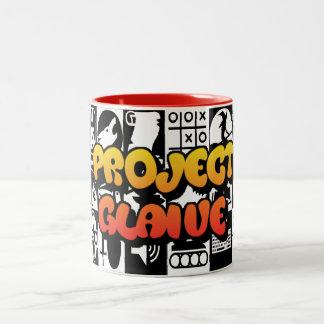 ProjectGlaive Logo-Tasse - £11.00 Zweifarbige Tasse