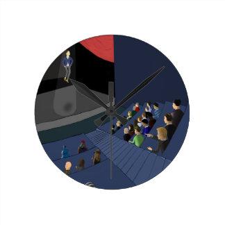 Projekt 2035 runde wanduhr