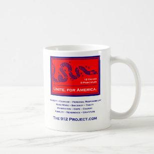 Projekt 912 vereinigen für Amerika Kaffeetasse