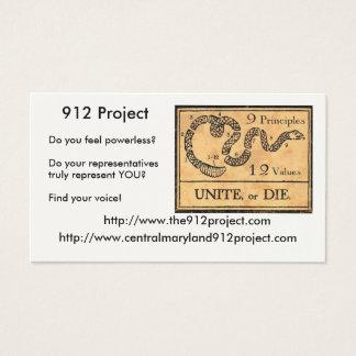 Projekt 912 visitenkarte
