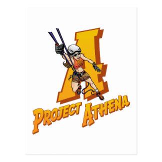 Projekt Athene Postkarte