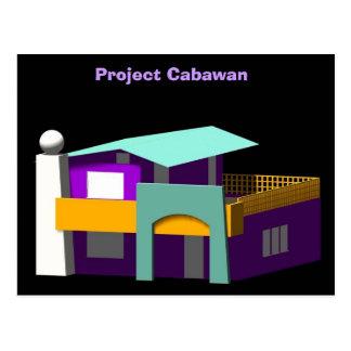 Projekt Cabawan Postkarte