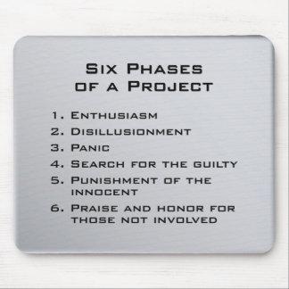 Projekt-Phasen Mauspads