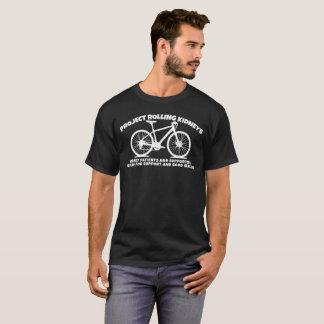 Projekt-Rollen-Nieren-Dunkelheits-Shirt T-Shirt