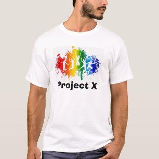 Projekt X - Schlamm-Rennen T-Shirt
