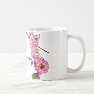 Projekt-Zweck - Blumen-Tasse Kaffeetasse