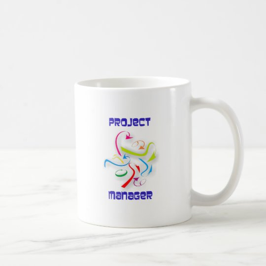Projektmanager project manager kaffeetasse